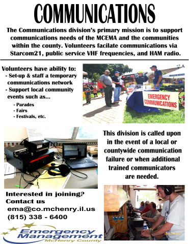 McHenry County Emergency Management Agency | Volunteer